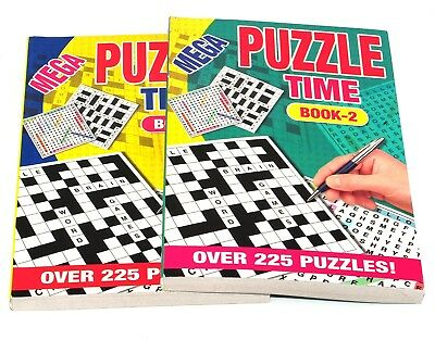 1x A5 Crossword Puzzle Livre livres 262 Powerful Puzzles A5 pages Trivia