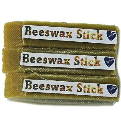 3 FraPete Beeswax Sticks 100% Pure Australian Beeswax Woodturning Wax 130 Grams