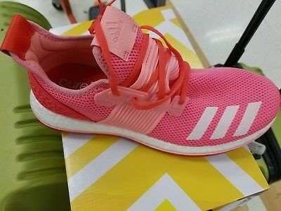 2f502f746 Adidas Pure Boost ZG - Mens Running Shoes Pink White Red Ultra Boost size  11.5