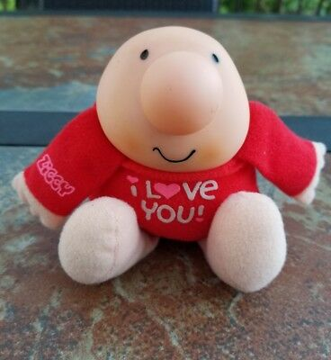 Vtg American Greetings Ziggy I Love You Doll Plush Forget Me Not