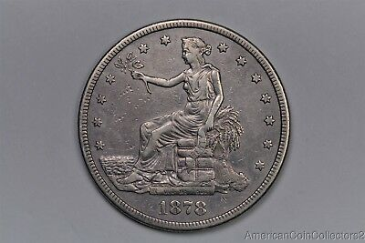 1878-S Trade Silver Dollar $1 Look No Reserve EARLY Silver | 0944