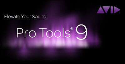 PRO TOOLS 9 w/12months upgrade and support