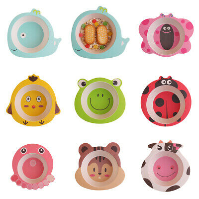 Baby Plates Dishes Bowl Snack Plate for Toddlers Kids Children, Dinnerware