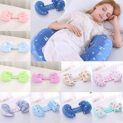 Folding Maternity Pillow Nursing Pregnancy Side Sleeper Support Cushion Pad