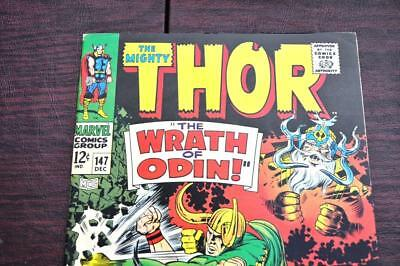 ** The Mighty THOR 147 (VF/NM) LOKI vs THOR Odin Original OWNER Collection! *