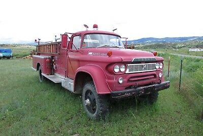 1960 Dodge Other Pickups  1960 dodge w500 fire truck