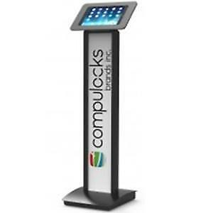 NEW COMPULOCKS 140B260ROKB ROKKU+BRANDME STND-9.7IN IPAD/GALAXY BLK....b.