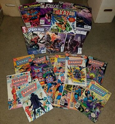 1 Grab Bag 100 Marvel DC Comic book New Old MUST READ Justice League Spiderman