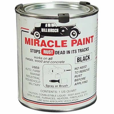 Miracle Paint Bill Hirsch Rust Prevention Paint, like Por-15