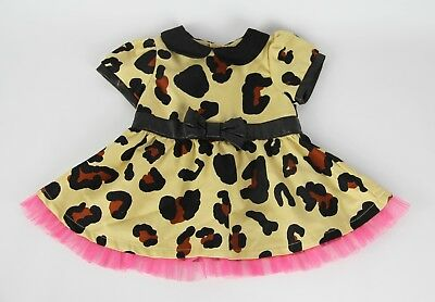 6cdccba8b Harajuku Mini for Target Baby Girl Animal Leopard Print Pink Tulle Bow Size  9 Mo