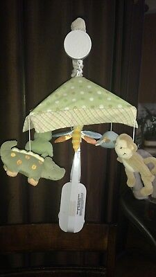 lambs and ivy-  papagayo crib mobile ! Super rare to find excellent condition.
