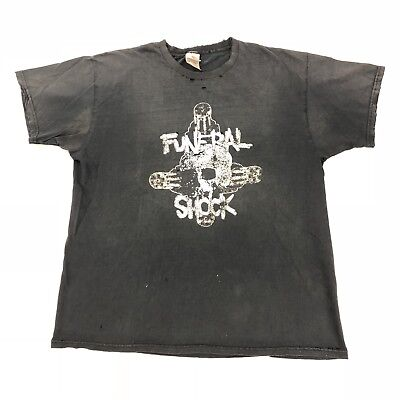 Funeral Shock I'd Like You Better If You Were Dead Shirt L Death Metal