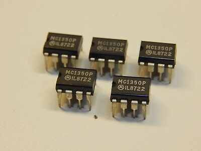Mc1350P Monolithic If Video Amplifier  Usa Seller Fast Ship - You Get 5 Pieces