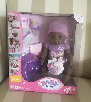 Baby Born Interactive Doll - Ethnic New Never Open