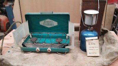 Camping stove and light