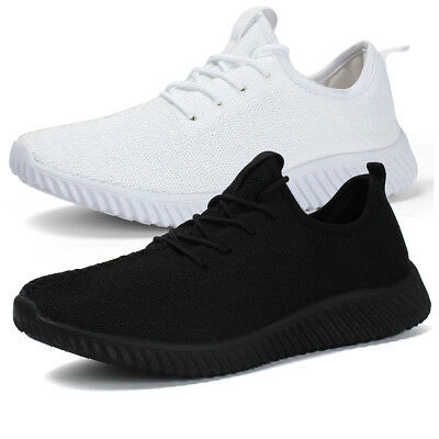 Men's Fashion Sneakers Breathable Athletic Sports Light Weight Casual Shoes
