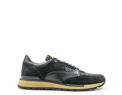 Shoes ANDROID HOMME Man GRIGIO Natural leather,Patent AHI1707016