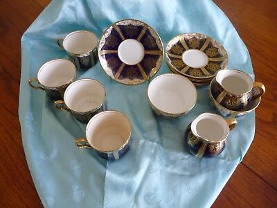 Aynsley Coffee Cup & Saucer Set
