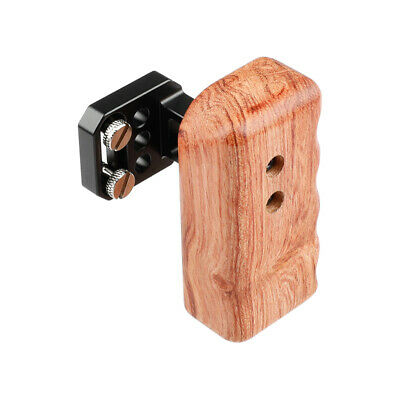 US Stock CAMVATE Wooden Handle Grip Right Side for Panasonic GH Camera Cage Kit