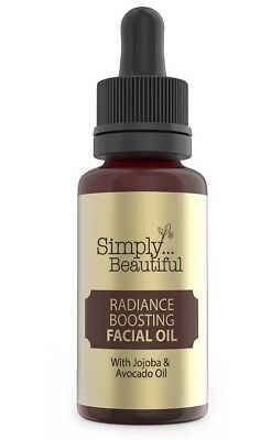 Simply Beautiful Radiance Boosting Facial Oil 50ml Jojoba & Avocado Oil