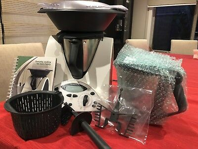 Thermomix TM31 with everyday cookbook, brand new spare bowl and butterfly.