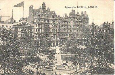 Carte Postale -London - CPA - Leicester square