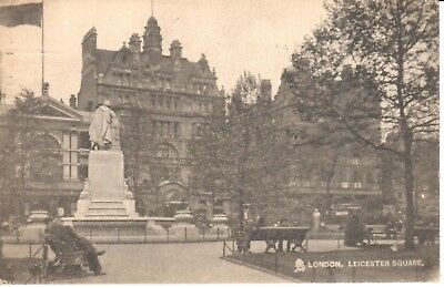 Carte Postale - London - CPA - Leicester square