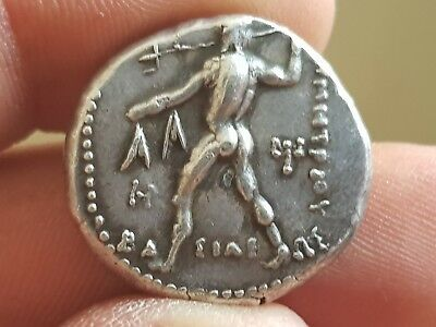 Stunning Ancient Greek Silver Tetradrachm Dimitrios Poliorkitis.15,9 Gr.25 Mm