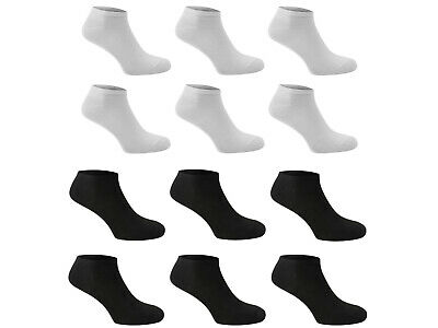 Men's Striped Sport Trainer Ankle Socks UK 6-11 EU 39-45