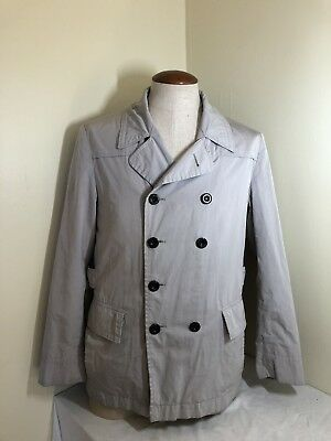 e823d4ce93b0b HUGO BOSS Large Double Breasted Trench Coat Style No Reserve Rare Vintage  Jacket