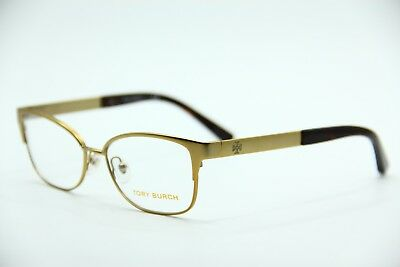 70c8a2bf8a1b New Tory Burch Ty 1046 3124 Gold Eyeglasses Authentic Frame Rx Ty1046 50-16