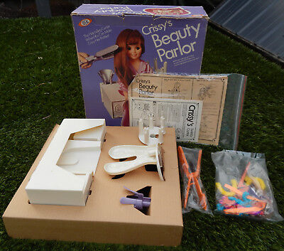 Vintage Ideal CRISSY Doll BEAUTY PARLOUR - MIB Complete !