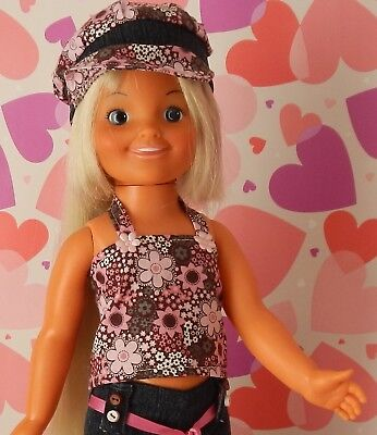 Vintage 1972-73 Ideal Crissy DINA Doll - Redressed
