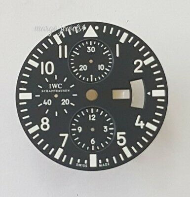 WATCH PART ORIGINAL DIAL IWC METOXID 3786 CHRONO  DAY DATE New Old Stock