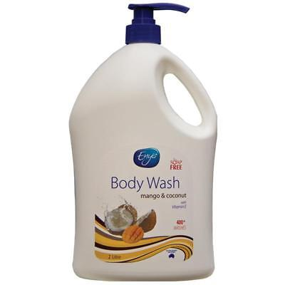 3x Enya Body Wash Mango and Coconut 2 Litre