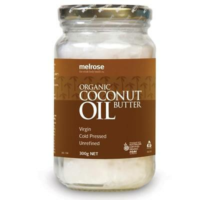 3x Melrose Organic Unrefined Coconut Oil 300g