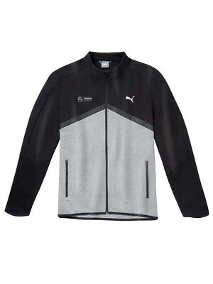 original Mercedes Benz by Puma ® AMG Petronas Motorsport Herren Sweat jacke grau