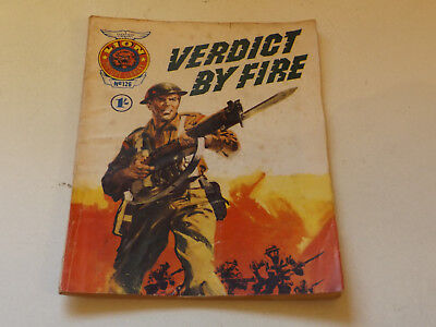 LION PICTURE LIBRARY,NO 126,1968 ISSUE,GOOD FOR AGE,50 yrs old,VERY RARE COMIC.