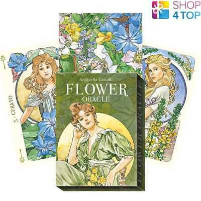 Flower Oracle Cards Deck Esoteric Telling Antonella Castelli Lo Scarabeo New