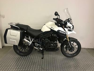 Triumph Tiger Explorer 1215 2014 with 20,354 miles + Panniers