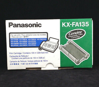 NEW Genuine Panasonic Film Cartridge for Fax KX-FA135 100 meter (328 feet) NICE