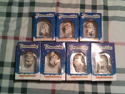 DREAMSICLES ~ Lot of 7 Christmas Ornaments IN ORIGINAL BOXES
