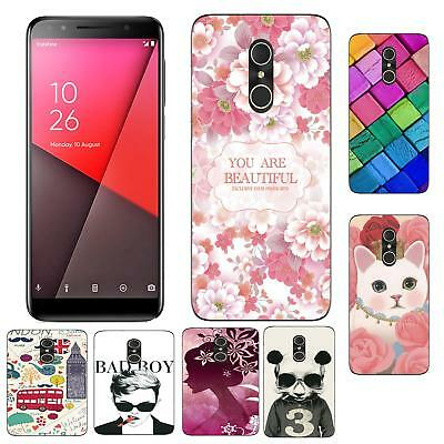 For Vodafone Smart N9 Lite E9 C9 X9 E8 V8 N8 CASE DIY Soft Gel Protective Cover