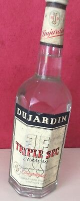 Dujardin Triple Sec Curacao 41% sehr alte Flasche - aber anders als meine andere