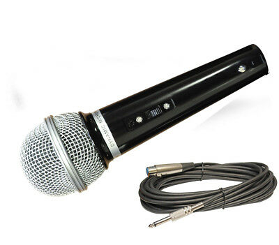 Soundlab Dynamic Vocal / Karaoke Microphone with 2.8m XLR Lead