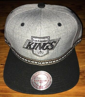 4f4fae362 New Vintage Hockey NHL Los Angeles Kings Snapback Hat Mitchell And Ness  Threads
