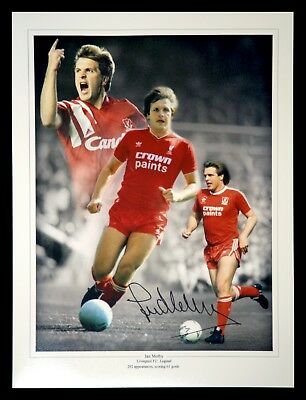 Jan Molby Liverpool Signed 12x16 Football Photograph  : New