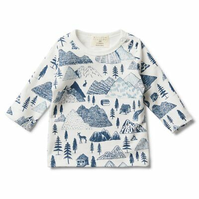 Wilson and Frenchy - Long Sleeve Top - The Hills