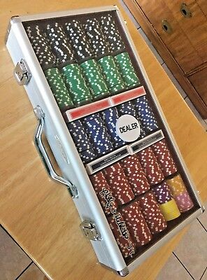Phil Hellmuth, Jr. Signature Series Poker Set - Great Shape - Top Quality