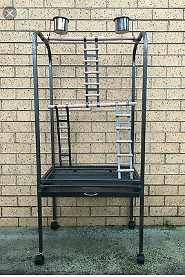 Large African Grey Parrot and Macaw Playstand-SALE
